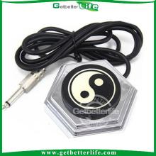 2014 getbetterlife estilo clássico chinês 360 rodada pedal de tatuagem com fio longo plug
