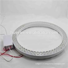 Chine vente chaude 180leds CE RoHS 10w conduit lumière circulaire conduit tube lumière suspendu led lumières