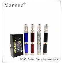 2017 AV Carbon fiber extension Kit vape mechanical able mods e cigarette