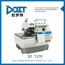 Linha de recolha de alta velocidade overlock máquina de costura DT747