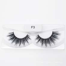 Makeup Faux Mink Silk Synthetic Eyelashes Nice Looking