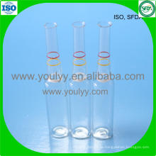 Brechring Clear Glass Ampulle