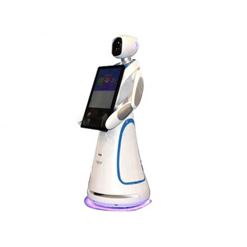 Smart Service Welcome Robot For Hotel
