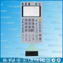 Comutadores de membrana LED e LCD