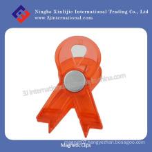 Neodymium Magnetic Clips/Plastic Clip for Office
