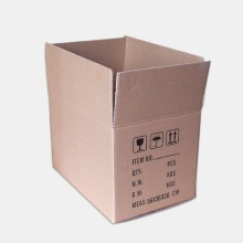 Brown Kraft Without Printing Corrugated Paper Shipping Box