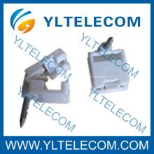 FTTH Accesorios Clamp Clavo Hebilla, clip de cable