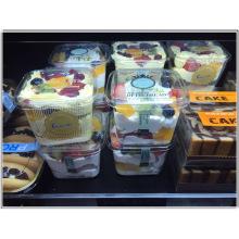 Contenedor de helado de plástico personalizado (caja de PP)