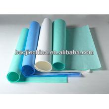 La esterilización envuelve el papel
