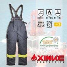 100% cotton FR workwear bibpants