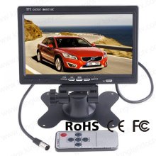 7 Inch High Resolution TFT LCD Rear View Camera Monitor