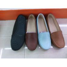 Classic Comfort Lady Shoes com sola plana TPR (SNL-10-016)