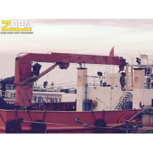 Electrical Hydraulic Deck Crane Expenditure Crane
