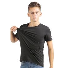 Sport Wear Spandex Modal T-Shirt Camisa OEM Fabricante