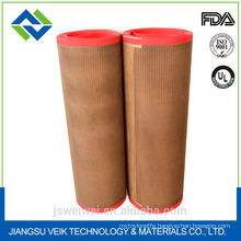 China manufacturer ptfe teflon coated fiberglass mesh belt