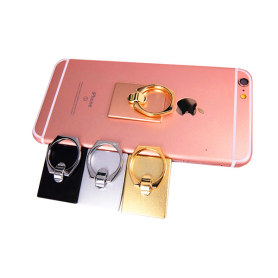 Aluminum alloy phone finger ring holder