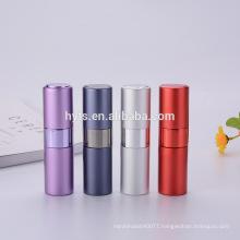 8ml 10ml 15ml 20ml colored portable twist up perfume atomizer