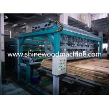 Máquina secadora de folheado de alta capacidade
