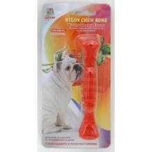 "Percell 6 ""Nylon Dog Chew Spiral Bone Strawberry Scent"
