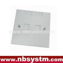 Face Plate 2 port, taille: 86x86mm