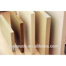 Panneau de croûte à haute densité de PVC de WPC, panneau de mousse de PVC