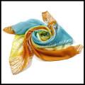 Hot vendendo moda impressão multicolor senhora praia chiffon lenço