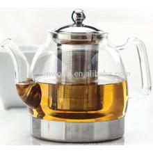 2018 meistverkaufte chinesische antike mundgeblasene klare hitzebeständige Glas Teekanne