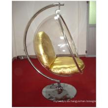Colgante interior silla o silla de la burbuja de acrílico colgante