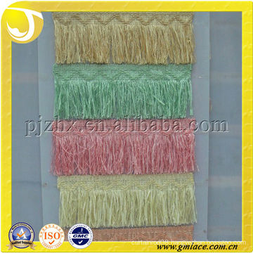 Lace fringe brush trimmings beaded tassel trimming lace