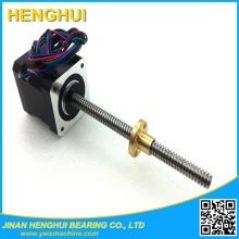 Шаговый двигатель NEMA 17 с винтом 8 мм для 3D-принтера