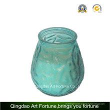 Vela do frasco de vidro para fabricante de decoração exterior de citronela