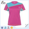 Women Sexy Jogging Wear Reversible T Shirt Sports Wear