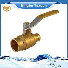 lead free Pex full port brass ball valves PEX*Sweat