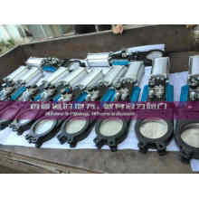 Viton Seat Pneumatic Knife Gate Valve