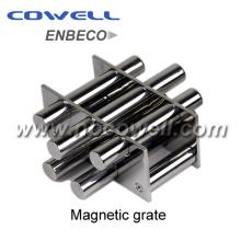 Grilles magnétiques de la trémie d'extrusion