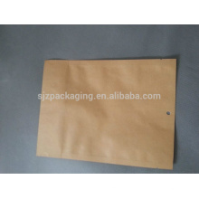 Food Grade Aluminum Foil Side Gusset Kraft Paper Bag