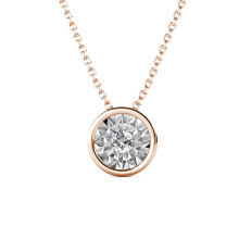 New Arrival 2020 Quality Brass Jewelry Ophelia Small Round Pendant Necklace for Women