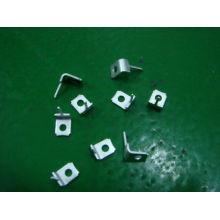 Cnc Precision Metal Stamping Small Stamped Metal Brass Contact Bracket
