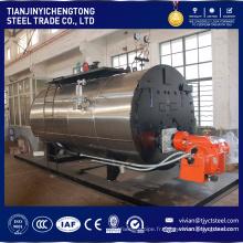 Chaudière à vapeur industrielle de gaz de pétrole de petite taille de la capacité 100KG
