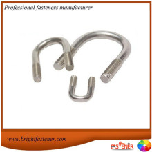 Good Quality for Produce of Long U-Bolts, Custom U-Bolts, Extended U-Bolts Manufacturers in China High Quality Carbon Steel U-Bolts supply to Bulgaria Importers