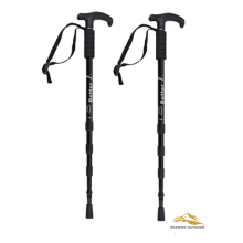 Best Quality for Foldable Alpenstock 55-110cm Adjustable Anti-shock Hiking Poles supply to Gambia Suppliers