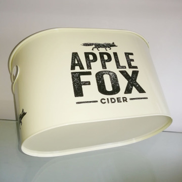 Double sided printing Ice Bucket With Inner Handle