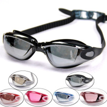 2015 Capable Silicone Rubber Swim Spectacles with PC Lens