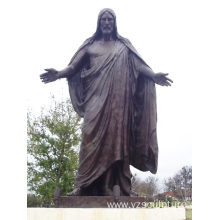 Bronze De Rio Jesus Statue for Sale