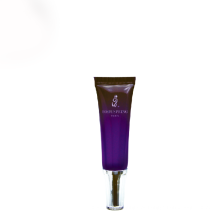 Capa de acrílico de 20 ml com tubo de plástico tubo de cosméticos de plástico transparente