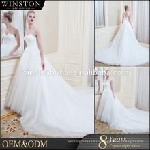 2016 Производитель Китай платье откройте низкий назад русалка свадебное платье