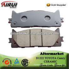 D1222 toyota camry semi-metallic free shiping sample brake pad