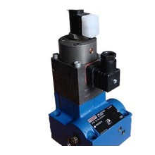 Proportional flow control valve in 2-way version
