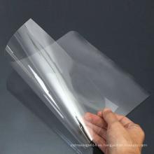 Película plástica de serigrafía de película de policarbonato transparente