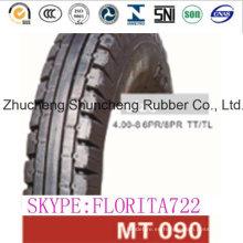 Tubo neumático de la motocicleta y neumáticos (4.00-8)